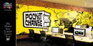 עיצוב חלל עבודה POCKET CHANGE