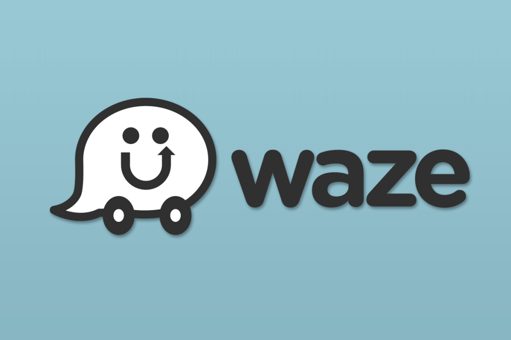 waze button